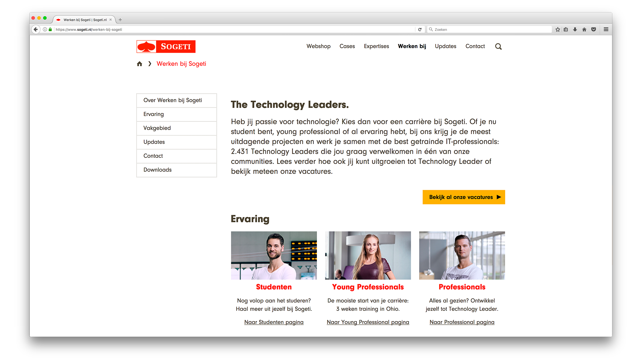 Sogeti. The Technology Leaders.
